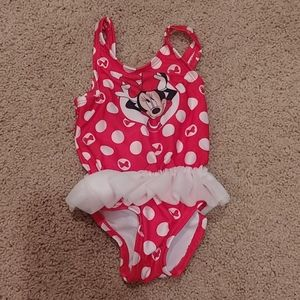 Disney baby bathing suit size 3 to 6 months